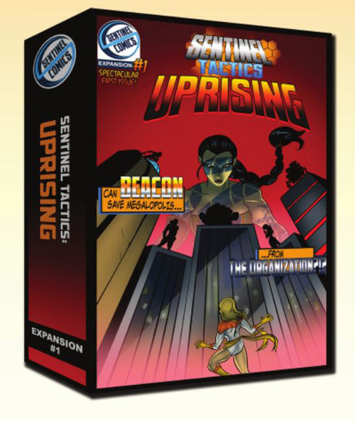 Sentinel Tactics - Uprising - Expansion  #1 - Miniatures Game - Sentinel Comics