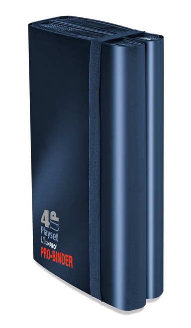 Ultra Pro - 4-UP Pocket Pro Binder - Holds 480 cards - Dark Blue