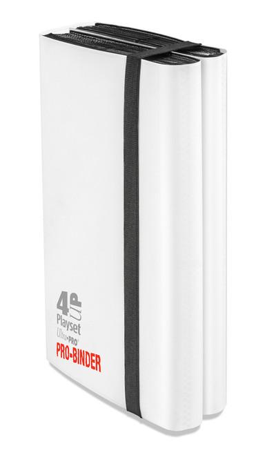 Ultra Pro - 4-UP Pocket Pro Binder - Holds 480 cards -  White
