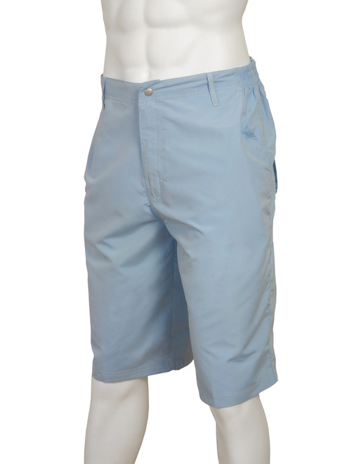 ADULTS LIGHTWEIGHT CASUAL SHORTS ICE BLUE