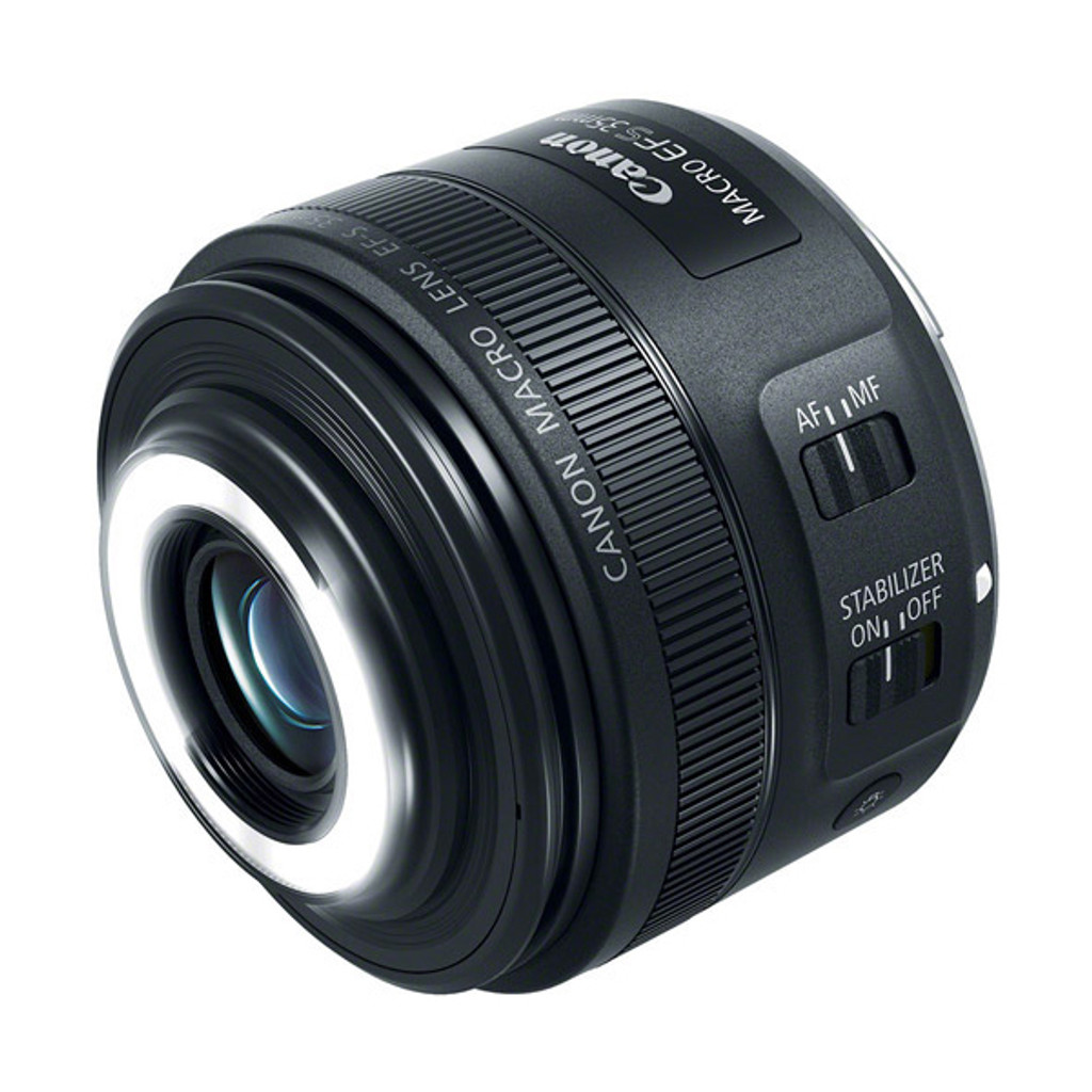 Canon EF-S 35mm f/2.8 IS STM Macro Lite - Save $60