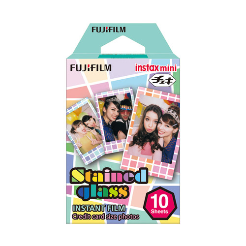 Fuji Instax Mini Film - Stained Glass - Save 50%