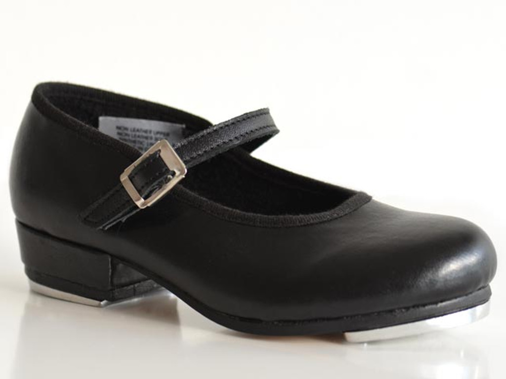 Dance Direct Leather Tap Shoes with Buckle