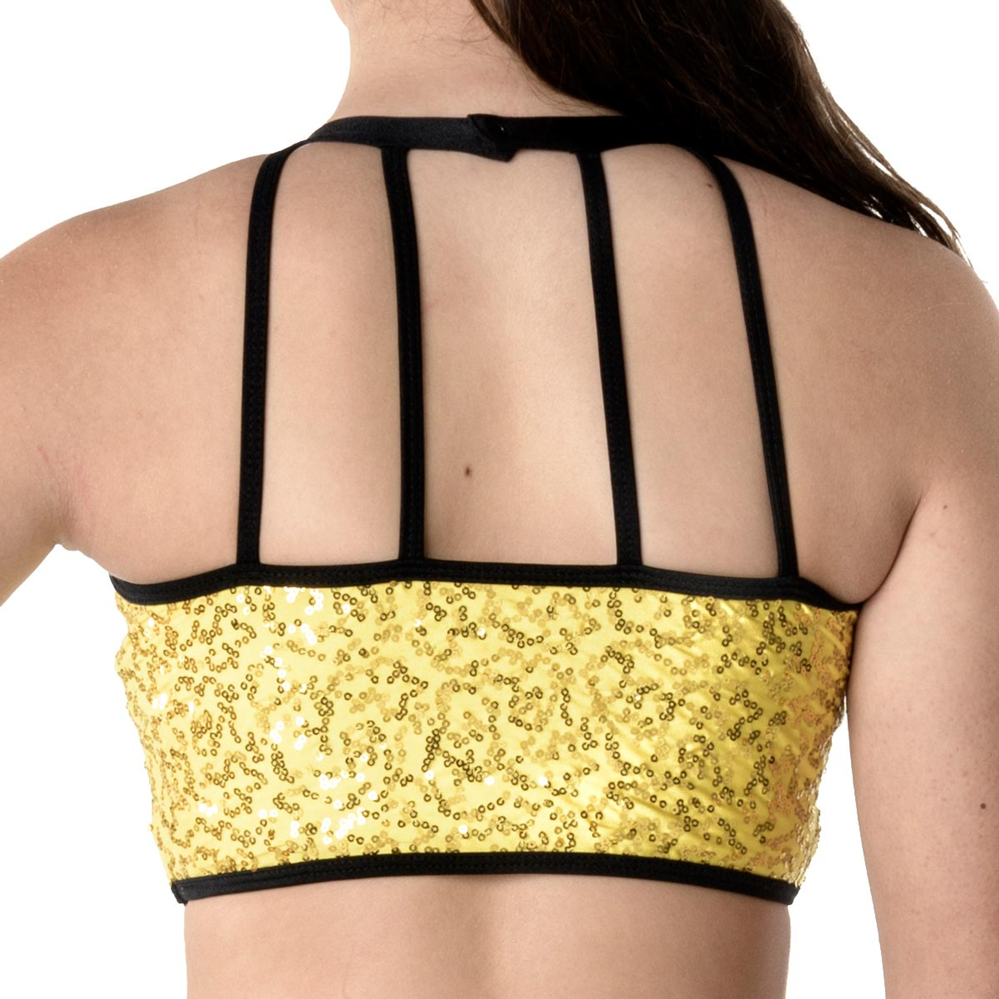 Studio 7 Dancewear Bright Lights Halter Crop Top - Ladies
