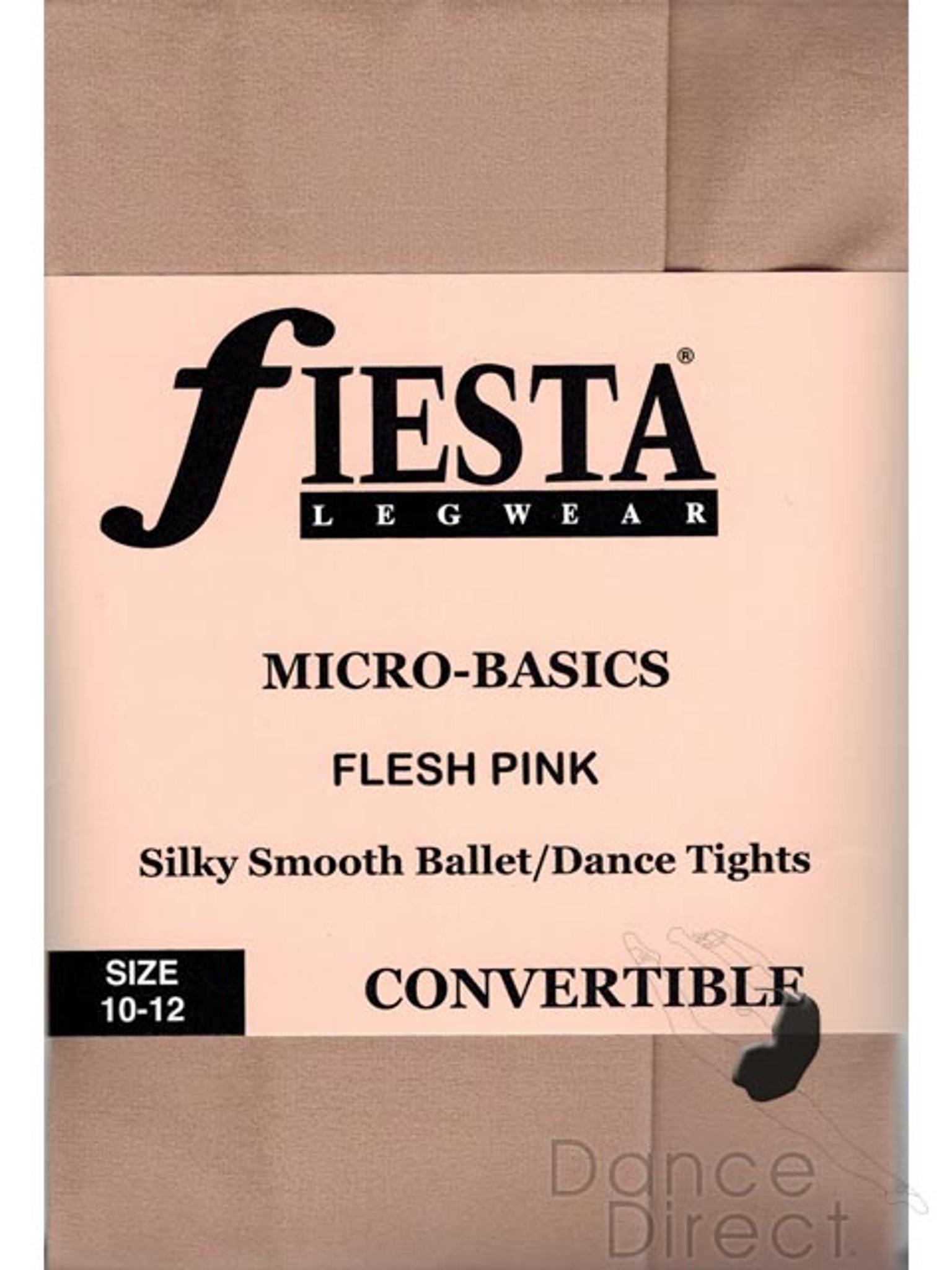 Fiesta Matte Micro Basic Convertible Dance Tights - Girls