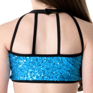 Studio 7 Dancewear Bright Lights Halter Crop Top - Girls