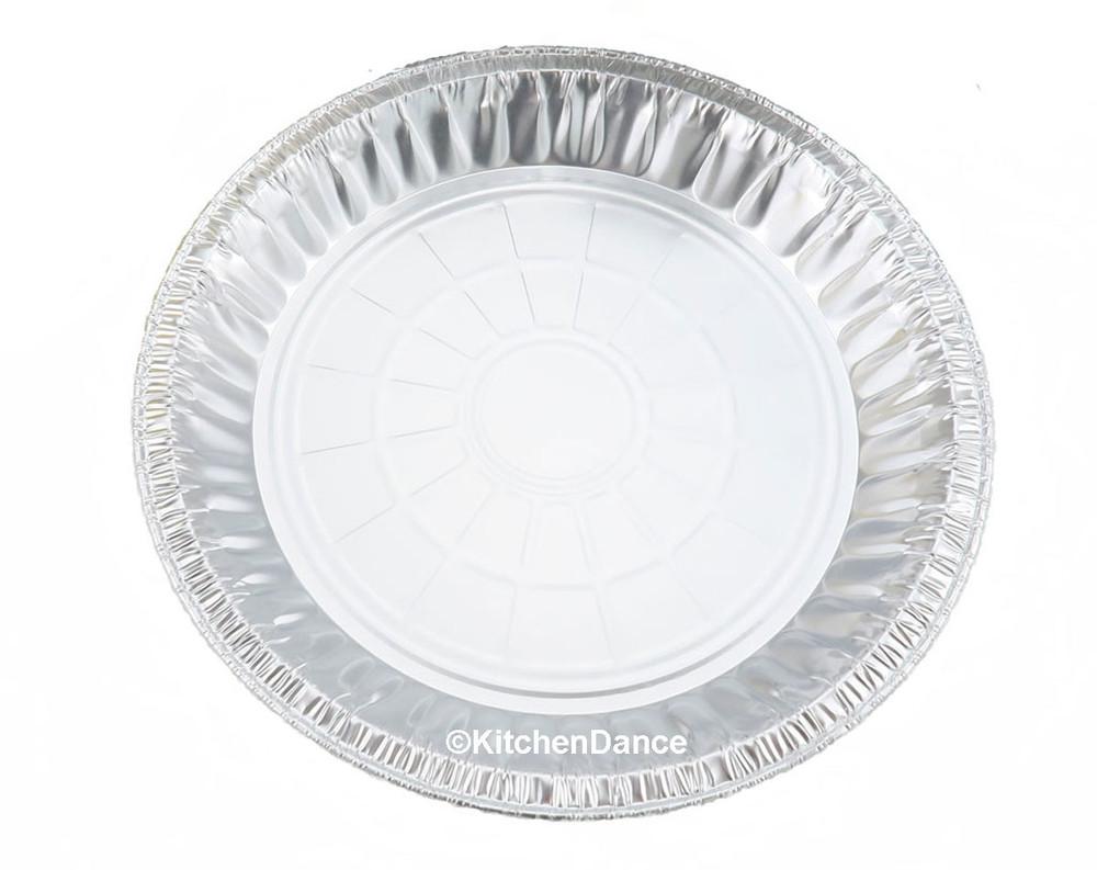 """9"""" Disposable Aluminum Foil Pie Pan - Medium Depth    #920"""