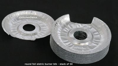 Disposable Aluminum Foil Small Foil Electric Burner Bib