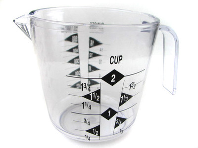 Measuring Cup  -  Two Cup - #20790
