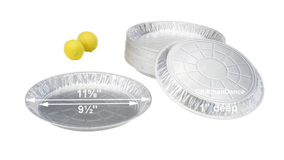 "disposable aluminum foil 12"" pie pan, baking pans"