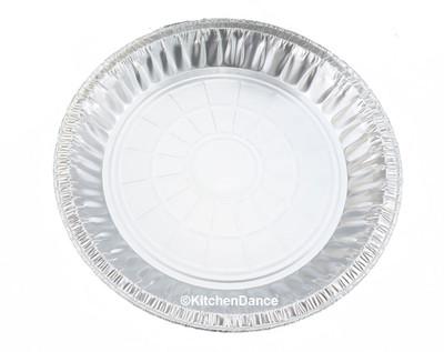 """disposable aluminum foil9"""" pie pan, medium depth"""