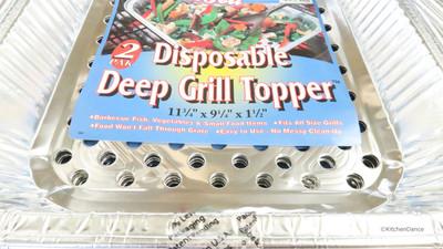 BBQ Grill Wok - Packs of 20 - #75600W