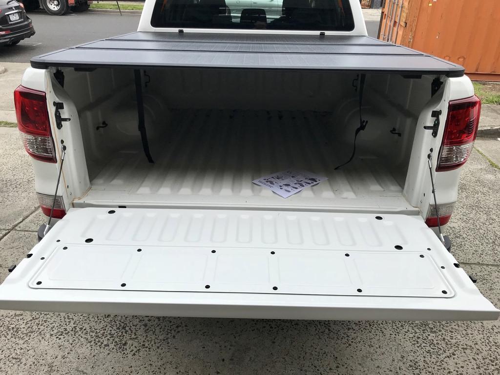 Tri-Fold Hard Lid Tonneau Cover for Mazda BT-50 2012-2019