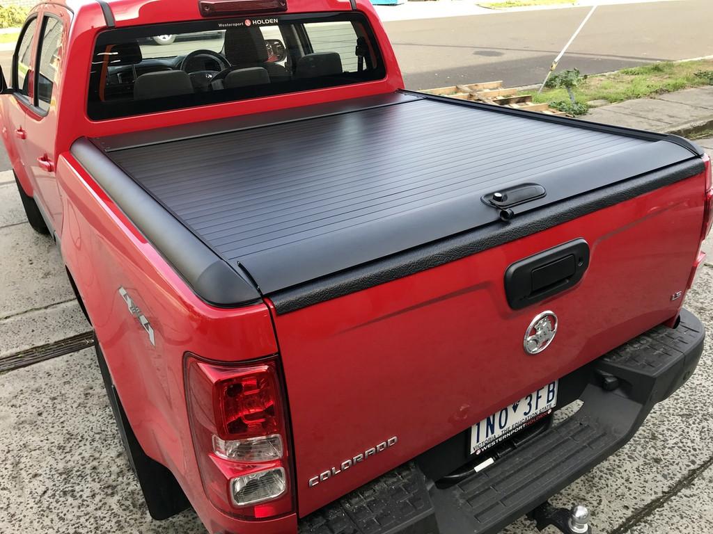 Black Roller Lid Shutter For Holden Colorado RG 2012-2019