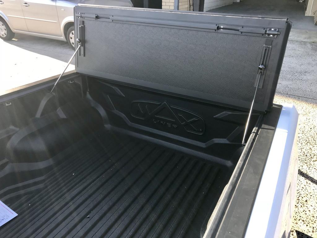 Quad-Fold Hard Lid Tonneau Cover for Holden Colorado RG 2012-2019