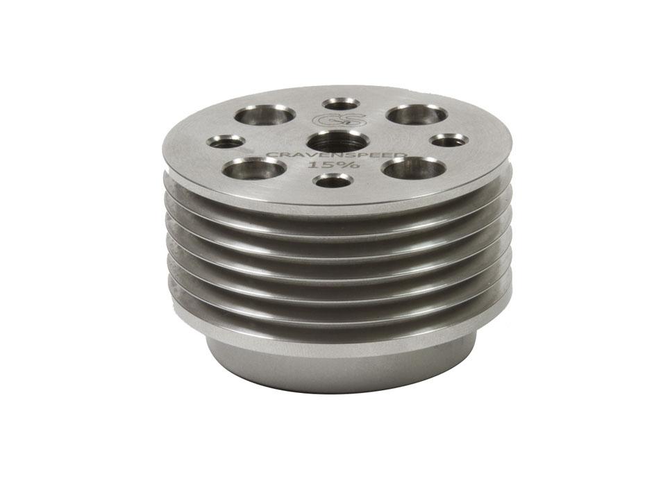Supercharger Pulley for MINI
