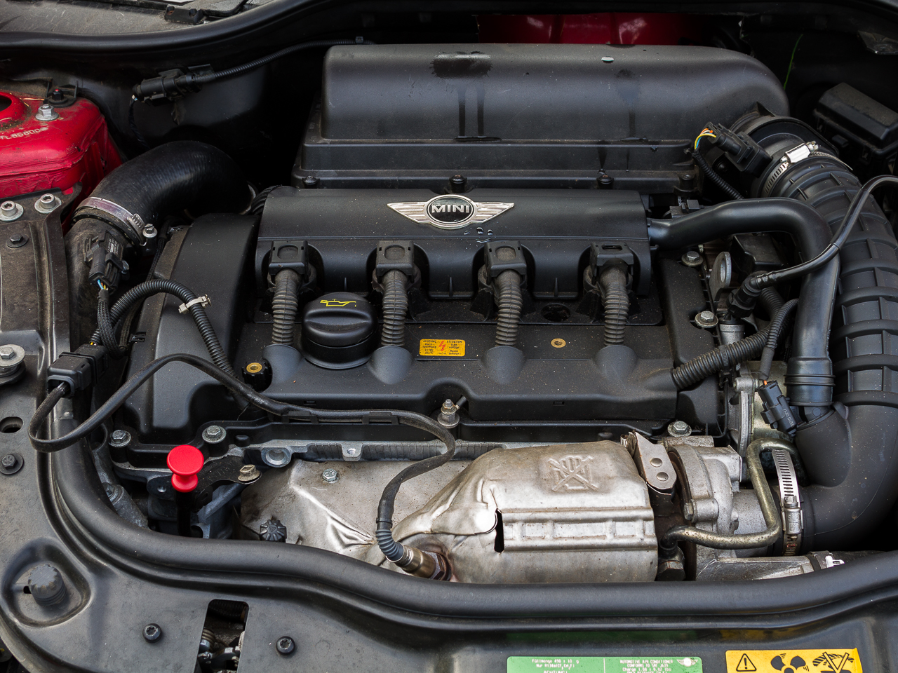 The Dipstick For Mini 2007 Cooper Engine Parts Diagram