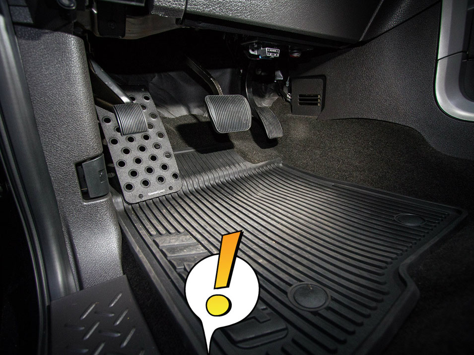 Dead Pedal for Ford Raptor/F-150
