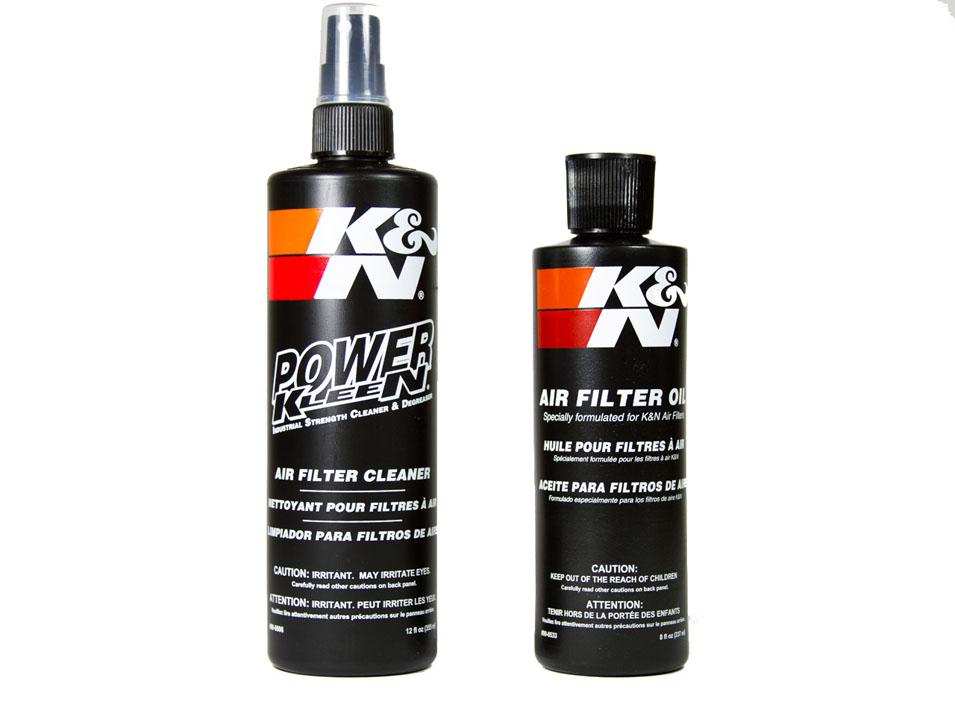 K&N filter recharge kits