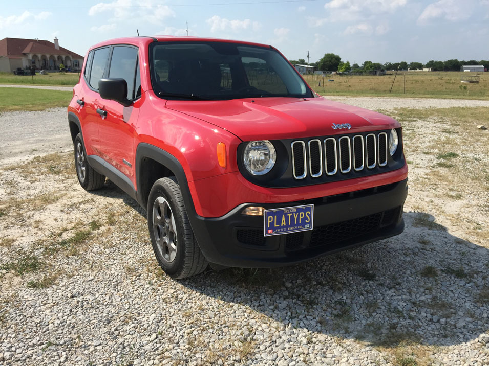 The Platypus License Plate Mount For Jeep