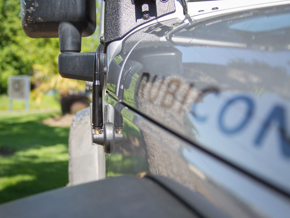 The Stubby Antenna for Jeep