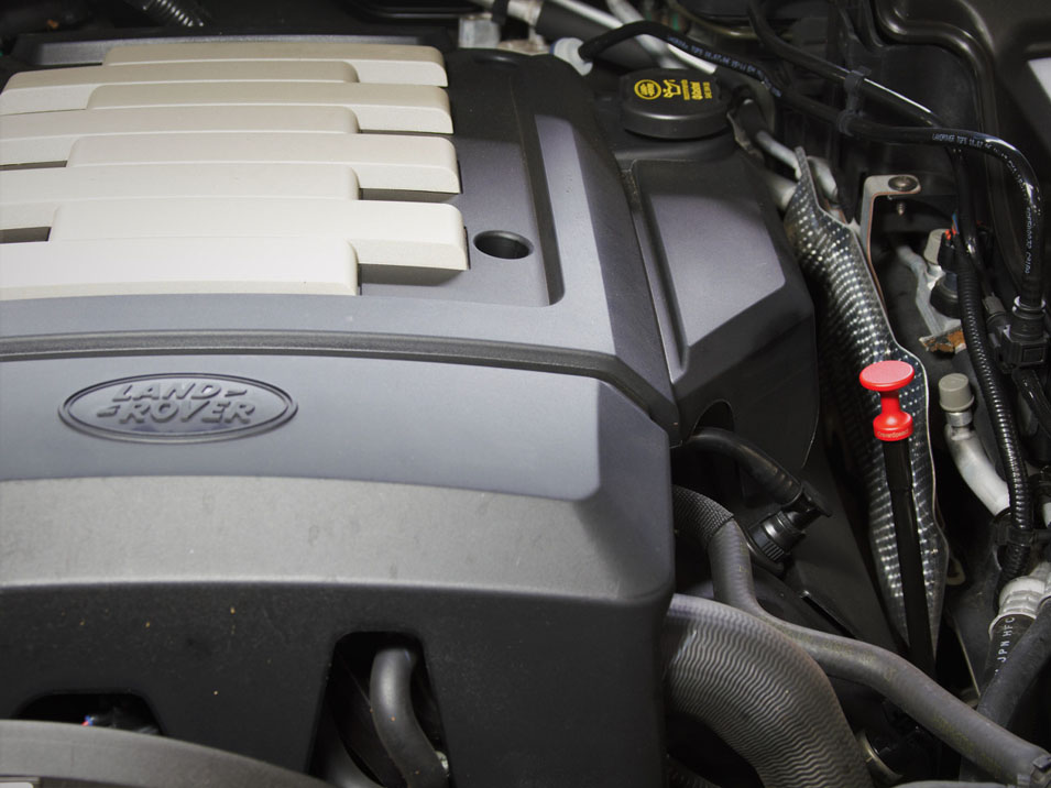 The Dipstick Handle for Land Rover