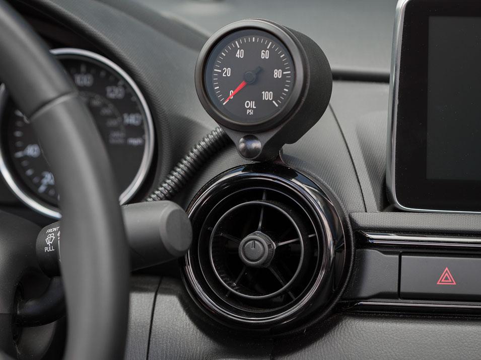 Vent Gauge Pod for Fiat 124