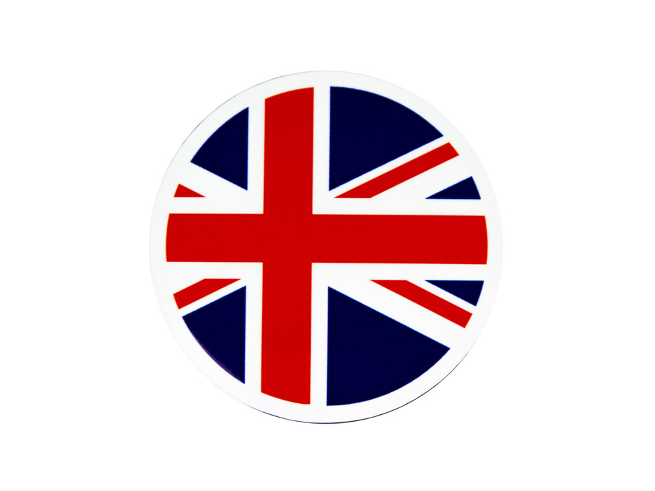 Union Jack Grill Badge
