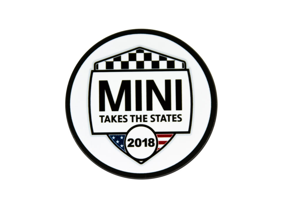 MINI Takes the States 2018 Grill Badge
