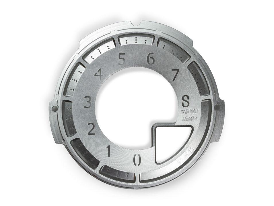 Billet Tachometer Dial for ND Miata
