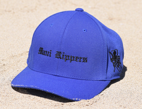 Embroidered Octo Hat Navy