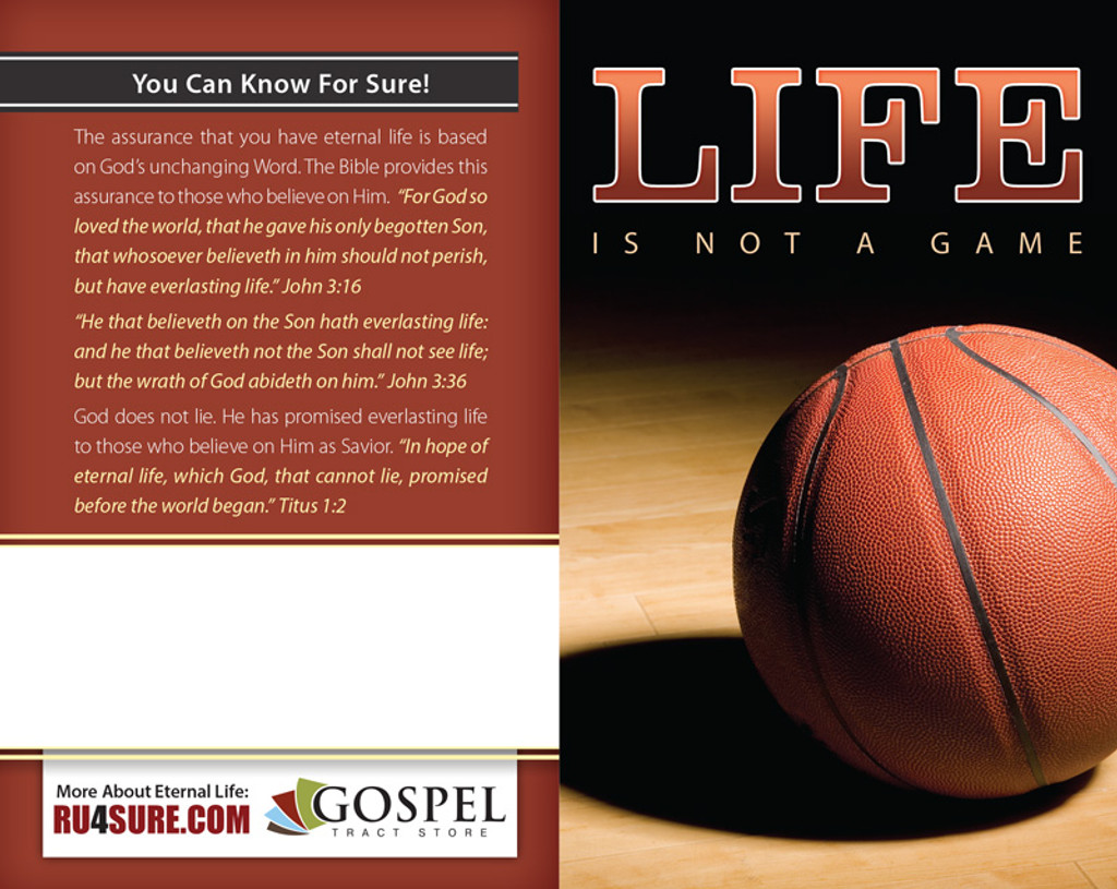 Life Is Not A Game (Basketball) PACK