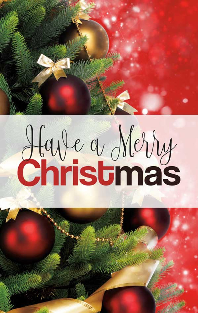 Have A Merry CHRISTmas-Red