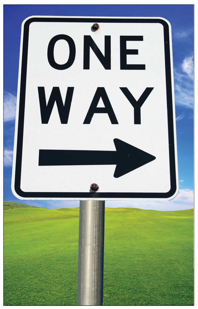 One Way (Bright Sign) PACK