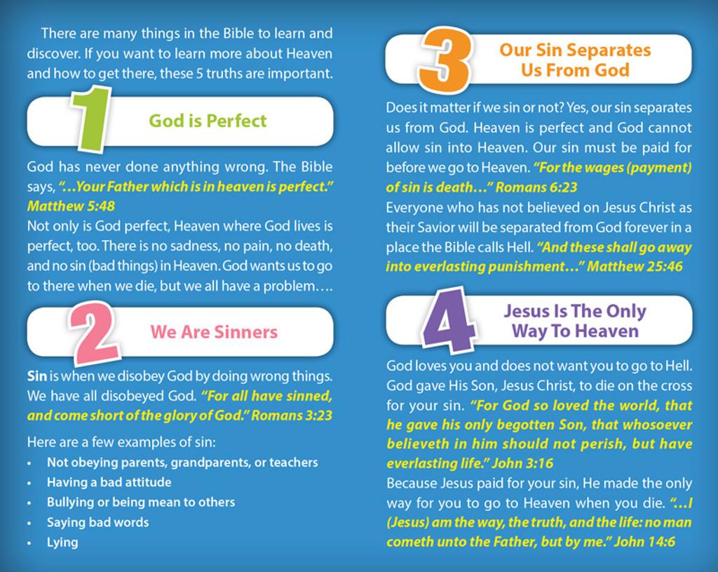 5 Things Every Kid (Numbers) PACK