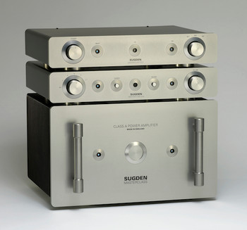 Sugden Masterclass PA-4 Phono Amplifier, Sugden Masterclass LA-4 Line Pre-Amplifier & Sugden Masterclass SPA-4 Pure Class ÔAÕ Stereo Power Amplifier.
