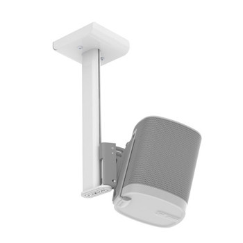 Flexson Sonos Play:1 Ceiling Mount holds a pair