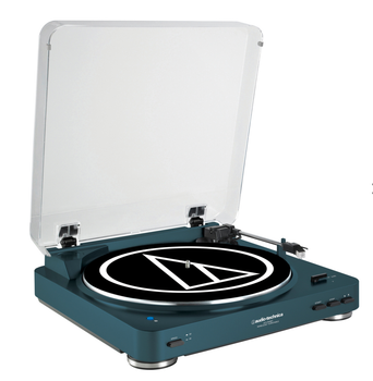 Audio Technica AT LP60BT Wireless Bluetooth Turntable Navy