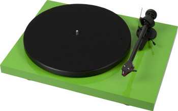 ProJect Debut Carbon Turntable with Ortofon 2M Red- Gloss Green