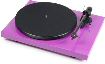 ProJect Debut Carbon Turntable with Ortofon 2M Red- Gloss Purple