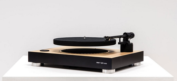 MAG-LEV Audio Turntable White