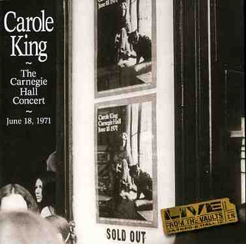 Carole King - The Carnegie Hall Concert 2LP