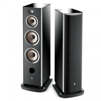 Focal Aria 948 Floorstanding Speakers in Black High Gloss