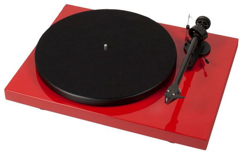 Project Debut Carbon DC Inc Ortofon OM10-Gloss Red