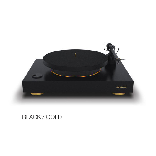 MAG-LEV Audio Turntable Black/Gold