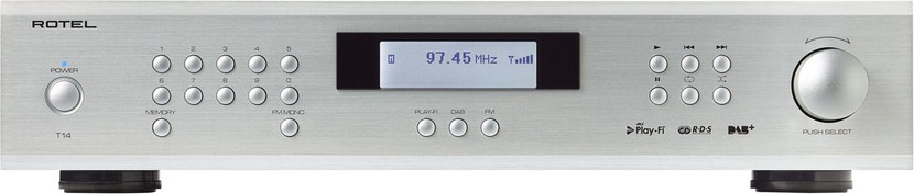 Rotel T14 Play-Fi Streamer and DAB+ Digital Radio Tuner- Bringing You the World of Digital