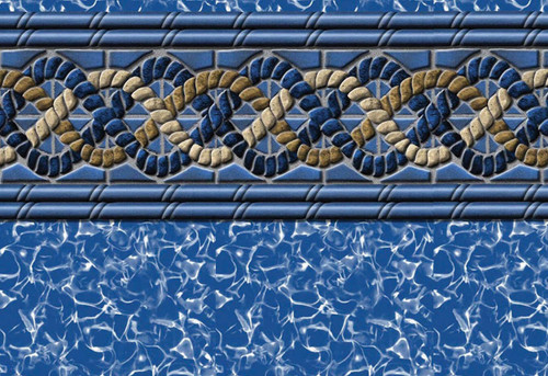 "Swimline Golden Beach Liner, Unibead 48"" Deep, Perma 25"