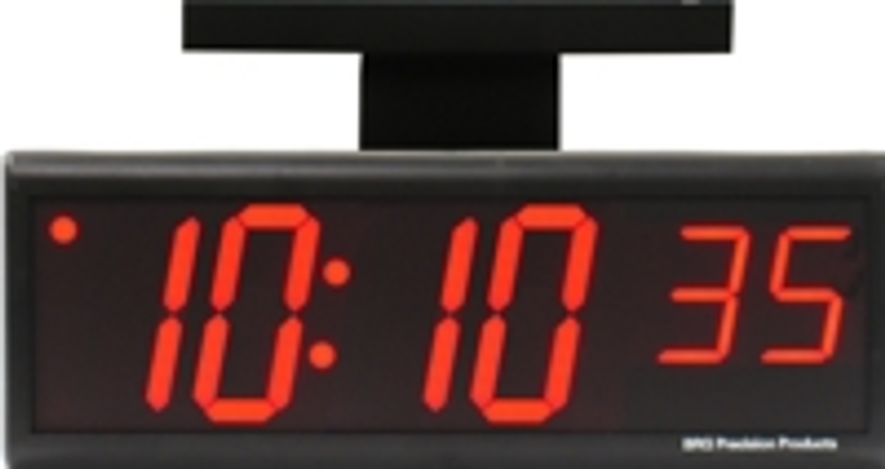 """DuraTime double sided 6 Digit, 4.0"""" Red LED Digital Clock. Available in RED, GREEN and Blue LED. Contact us for advice and prices."""