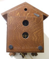SCCBF1 Cuckoo Clock - German Black Forest - 1 Day - Traditional Mechanical - back view