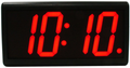 """DuraTime 4 Digit, 4.0"""" Red LED Digital Clock. Available in RED, GREEN and Blue LED. Contact us for advice and prices."""